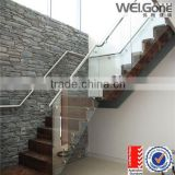 aluminium glass balustrade for stair with as/nzs2208