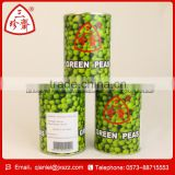 Canned green peas/bean in can with factory price for sale