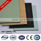Hot promotion wooden grain 7mm textured grain high abrasion resistance laminate sheet kitchen cabinets