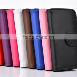 Cheap Wallet Flip Leather Case For IPHONE 5 5s Credit Card 8 colors Stocks