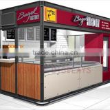 Street use manufacturer in CHina food street kiosk for sale, modern street food kiosk for sale, street sale coffee cart with CE