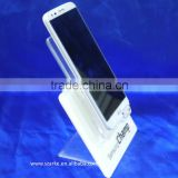 custom colorful acrylic mobile phone display rack/stand/holder/unit/shelf