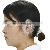 disposale plastic Ear Cover for beauty salon hair dyeing waterproof