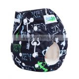 Hot sale AnAnBaby pocket fox prints cloth diaper baby reusable breathable diapers