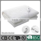 Thermal control type electric hot single electric blanket