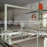 Knife With Cross Type Cutting Continuous Foam Production Line