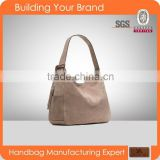 T-012 Ladies fashionable leather Hobo Bag Guangzhou factory                                                                         Quality Choice