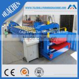 CNC Metal Roofing Panel Double Glazed Tile Roll Forming Machine Manufacturers From China Supplier