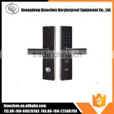 luxury 5 access solutions electronic keyless door lock , card door lock , hotel electronic keyless door lock