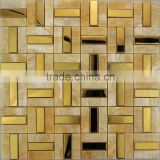 metal mosaic mix slate stone mosaic tiles, wall and floor decorative mosaic tile mosaic pattern SM100