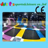 USA jumping mat indoor trampoline park for kids and adults                                                                         Quality Choice