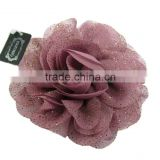 Fashion elegant Satin Flower Fabric Brooches for sale