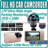 "8.98mm Ultra slim 1080p HD DVR Camera Camcorder Video HDMI G-sensor Dash Cam 2.7"" Car Recorder"