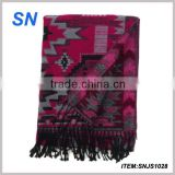 newest design geo print pashmina large scarf                                                                         Quality Choice