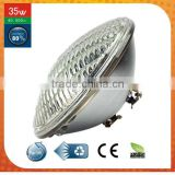 new technology products swimming pool led waterproof lights color changing 35 watt glass par56 led pool lights bulb