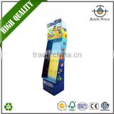 2016 China wholesaler fast delivery custom wholesale durable exhibition paper display stands