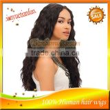 Hot Selling High Quality 100%Brazilian Virgin Remy Deep Wave Human Hair Lace Front Wig For African
