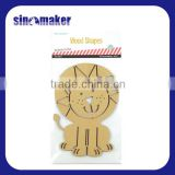 Lovely wooden animal shapes mdf shapes craft