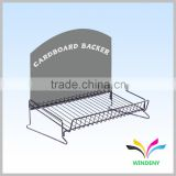 High Quality Hangzhou Factory Metal Wire Counter Display Rack for shot glass