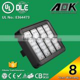 Anodized Aluminum Timer IP67 IK10 High Lumen 160W Tunnel Light Stainless Steel with 8 Years Warranty