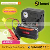Powerful auto jump starter lipolymer car battery 10000mAh emergency power supply LED flash light