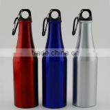 Fashional Aluminum water bottles with beer bottle shape, Aluminum sport water bottles, PTM895