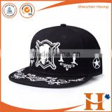Customized your own black plain snapback hats                                                                                                         Supplier's Choice