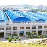 Metallic Structure Professional Steel Structure Warehouse With Arch Roofing