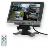 7 tft lcd color quad monitor