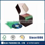 Customized Single Color Paper CD Cases for Sale