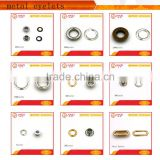 Zinc alloy shoes eyelets and hooks with all kinds sizes                                                                         Quality Choice