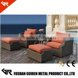 GR-R61059 New Arrival large 10 seater sofa group with chaise lounge wicker patio set rattan garden furniture                                                                         Quality Choice