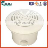 ABS material white color swimming pool main drainmain drain 1 1/2'' connection size ball shape main drain