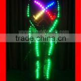 Wireless DMX Tron Costume, Boys Ballroom Latin Dance Wear