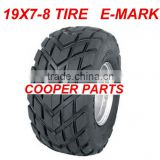 19X7-8 <b>ATV</b> <b>Tires</b>,E4 Approval