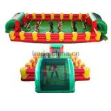 2016 hot funny inflatable human foosball