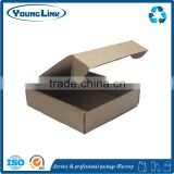 Custom Made Folding Kraft Paper Boxes Printing Wholesale, Kraft Paper Gift Box Packaging                                                                         Quality Choice
