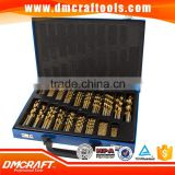 HSS Twist Drill Set 170 pcs Nitrided titanium Metal drill Set coated