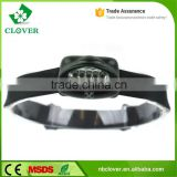 waterproof 3*AAA battery ABS material 5 led 60 lumens mining high power headlamp