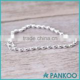 wholesale Factory Sale shining 925 silver ball bracelets