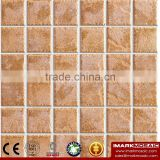 IMARK Hot Sale Rustic Porcelain Mosaic Tile/48*48mm Ceramic Mosaic Tile For Kitchen Backsplash Decoration