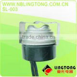 "LARGE ELECTRICAL LOAD TYPE 1"" Disc BI-METAL HEAVY-DUTY SWALED THERMOSTAT SENSOR SWITCH auto defrost thermostat SL-003"