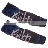 Custom sublimation cycling calf sleeves compression arm sleeves