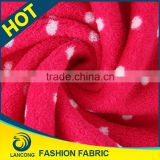 Certified product Garment use Elegant double face brushed polar fleece fabric