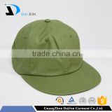 Daijun New Design OEM Hot Sale 100%Cotton Metal Buckle Plain Men Custom Cricket Baggy Green Caps