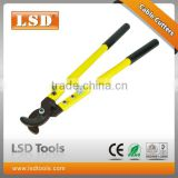 LSDHigh Quality LSK-125 labor -saving cable cutter easy cutting rachet hanroot super crimping plier wire cable cutter