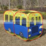 Blue Bus toys tent Kids play bus tent