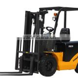 Two stage full free mast diesel forklift truck in block making machine