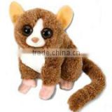 plush stuffed soft Mouse Lemur big eyes baby logo custom imprinted bandana beanbag t-shirt bib tie ribbon animal toys