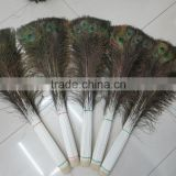 Very Cheap Hot Sale Different Length 25cm to 100cm Wholesale Natural Indian Peacock Feather
